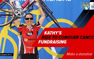 Kathy's Ride to Conquer Cancer Challenge